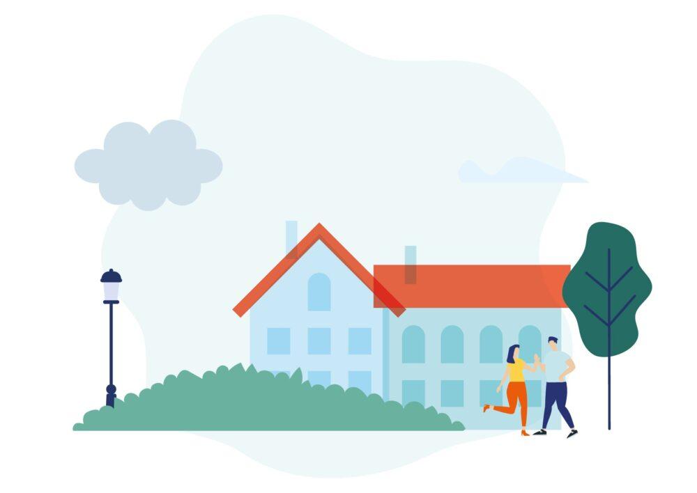 Illustration Ville, humain, bâtiment_Plan de travail 1