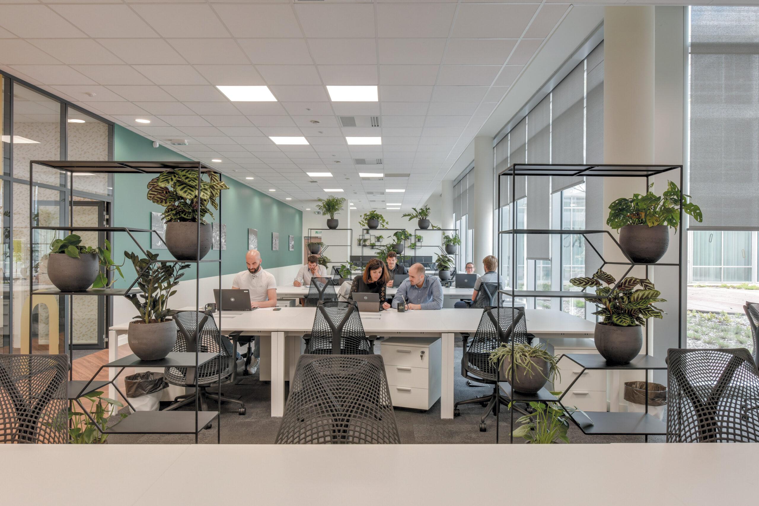 Bureaux en flex office à Bordeaux Whoorks Bacalan
