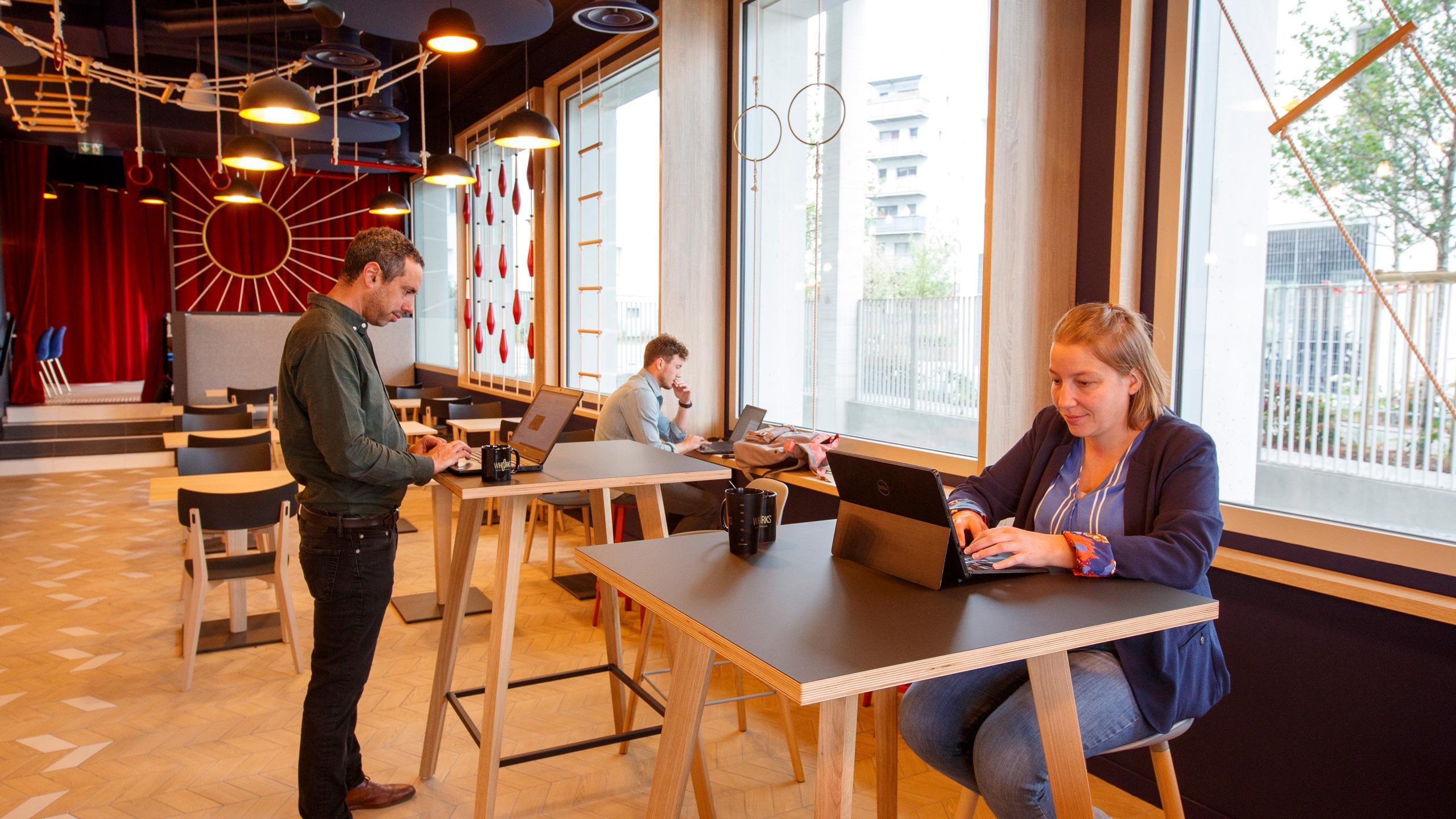 Whoorks - Bureaux en flex office à Nantes